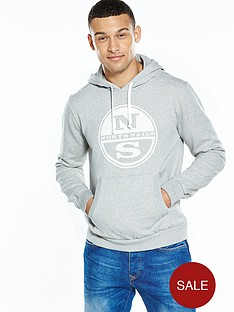north-sails-logo-hoody