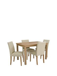 home-essentials--nbspprimo-120-cm-dining-table-4-faux-leather-chairs