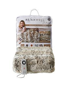 dreamland-relaxwell-faux-fur-heated-throw