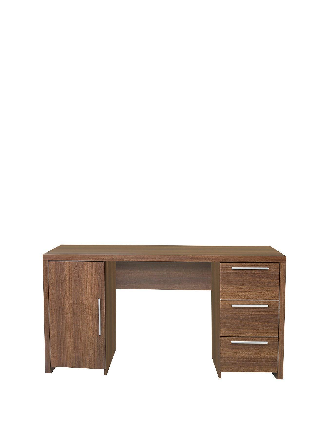 Perth 1 Door, 3 Drawer Desk