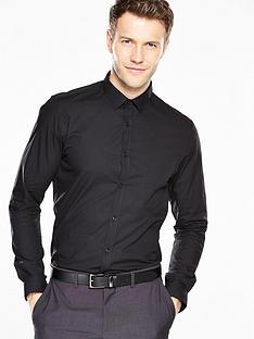 v-by-very-long-sleeve-slim-shirt-black