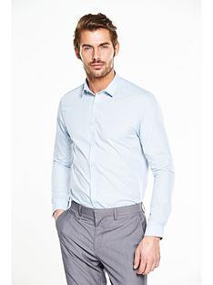 v-by-very-long-sleeve-slim-shirt-blue
