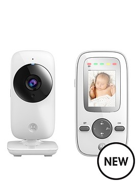 motorola baby monitor mbp481 digital wireless video baby monitor. Black Bedroom Furniture Sets. Home Design Ideas