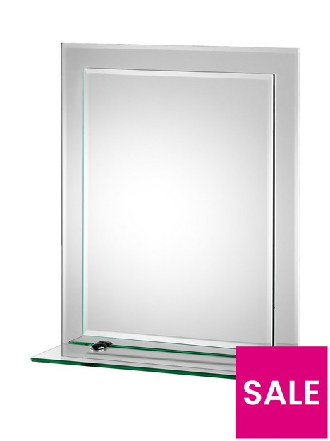 croydex-rydal-double-layer-bathroom-mirror-with-shelf