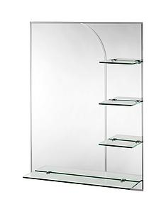croydex-bampton-rectangular-mirror-with-shelves