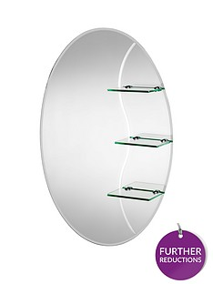 croydex-coniston-oval-mirror-with-shelves