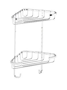 croydex-small-two-tier-corner-shower-basket