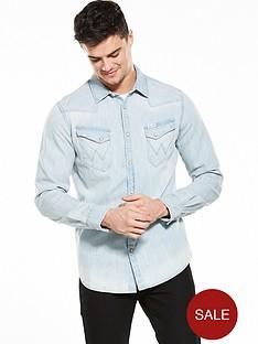 wrangler-long-sleeve-original-western-denim-shirt