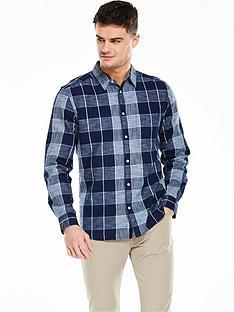 wrangler-long-sleeve-one-pocket-check-shirt