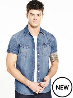 wrangler-short-sleeve-western-city-denim-shirt