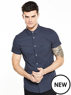 wrangler-short-sleeve-one-pocket-dobby-shirt