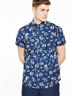 wrangler-short-sleeved-palm-print-shirt