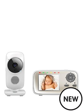 motorola baby monitor mbp483 digital wireless video baby monitor. Black Bedroom Furniture Sets. Home Design Ideas