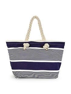 v-by-very-nautical-stripe-beach-bag