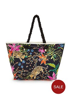 v-by-very-floral-leopardnbspbeach-bag