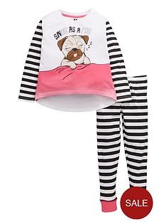 v-by-very-girls-snug-as-a-pug-pyjamas