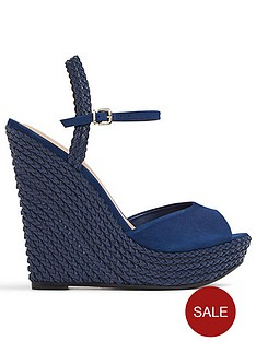 Aldo Uko High Wedge With Ankle Strap