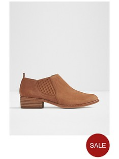 aldo-luzzena-almond-toe-shootie-with-side-elastic-detail
