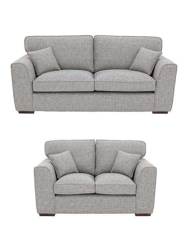Groovy Rio 3 Seater 2 Seater Standard Back Fabric Sofa Set Buy And Save Creativecarmelina Interior Chair Design Creativecarmelinacom