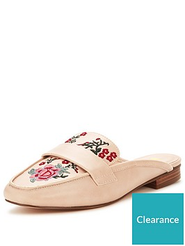 v-by-very-tammy-embroidered-backless-loafer-nude