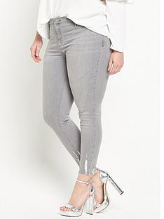 ri-plus-short-leg-molly-jegging-with-chewed-hem-grey