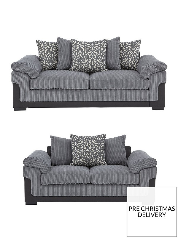 Terrific Phoenix Fabric And Faux Leather 3 Seater 2 Seater Sofa Set Buy And Save Creativecarmelina Interior Chair Design Creativecarmelinacom