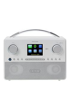 roberts-stream93inbspradio-white-dabdabfm-rds-and-wifi-internet-radio-with-three-way-speaker-system