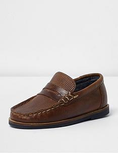 river-island-mini-boys-leather-loafer