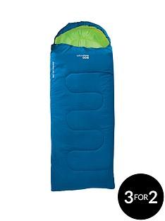 yellowstone-ashord-junior-300-blue-sleeping-bag