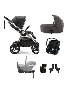 mamas-papas-ocarro-signature-edition-6-piece-travel-system-bundle-pushchair-carry-cot-car-seat-isofix-base-adaptor-and-cupholder