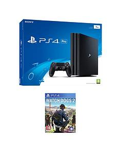 playstation-4-pro-console-with-watch-dogs-2-plus-an-optional-extra-controller-andor-12-months-playstation-network