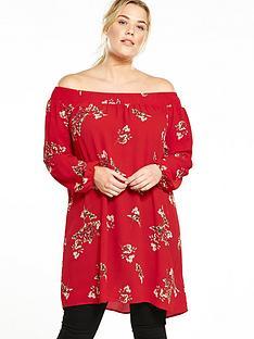 ax-paris-curve-curve-bardot-floral-blouse