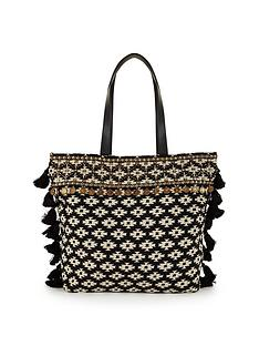 v-by-very-large-mono-coin-beach-bag
