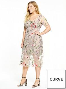elvi-floral-net-dress