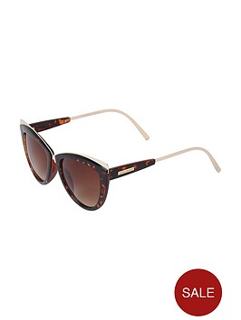 river-island-river-island-clear-metal-tip-eyecat-sunglasses