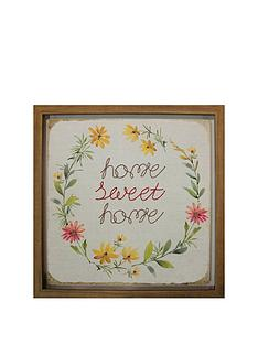 1600139681: ARTHOUSE Home Sweet Home Framed Picture