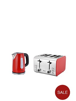 swan-sk13151r-stainless-steel-kettle-amp-st70130r-4-slice-toaster-twin-pack-red