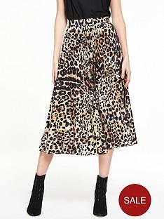 v-by-very-animal-pleat-skirt