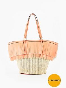 v-by-very-premium-fringed-beach-bag
