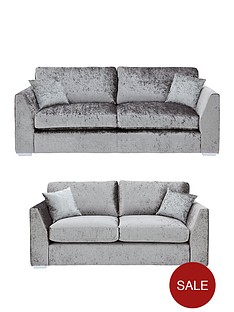 cavendish-shimmer-3-seater-2-seaternbspfabric-sofa-set-buy-and-save