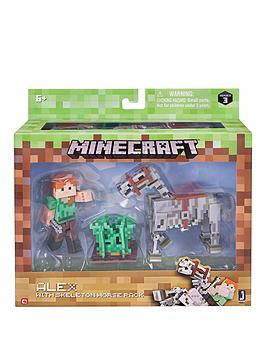 minecraft-minecraft-alex-amp-skeleton-pack
