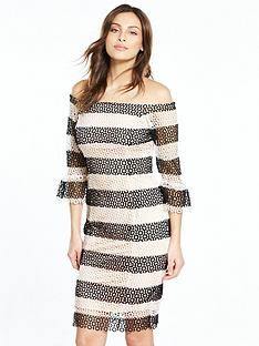 coast-anna-lucia-lace-dress-mono