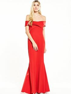 coast-scuba-maxi-dress-red