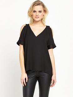 river-island-cold-shoulder-top-black