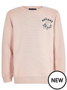 river-island-boys-pink-back-print-brave-sweatshirt