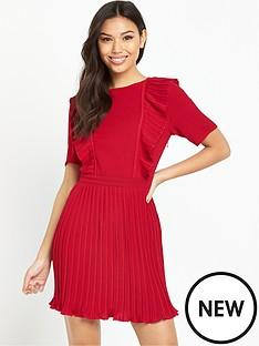 fashion-union-salim-pleat-dress-red