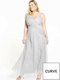 little-mistress-curve-curve-v-neck-sleeveless-maxi-dress-grey