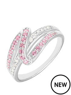 love-silver-sterling-silver-pink-and-white-cubic-zirconia-ring