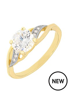 love-silver-sterling-silver-gold-plated-cubic-zirconia-crossover-shoulder-ring
