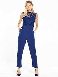 v-by-very-high-neck-lace-slim-leg-jumpsuit
